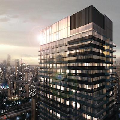 IMAGE: Artist's rendering of the 55C residences being built by MOD in Toronto. (Courtesy MOD)