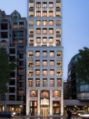 IMAGE: Armour Heights Developments is preparing to launchh sales for its 20-storey, luxury 89 Avenue Yorkville tower in Toronto. (Courtesy Armour Heights)