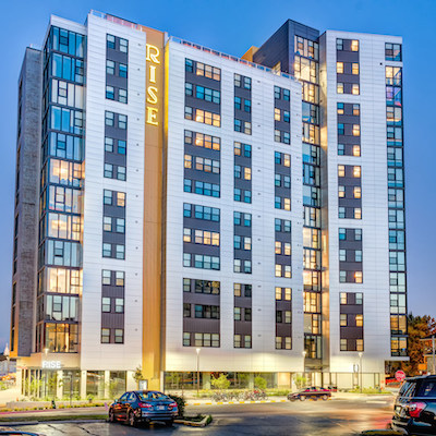 IMAGE: Quadreal Property Group will invest $1.6B in the U.S. student housing portfolio of CA Ventures, a Chicago-based real estate developer and operator. (Courtesy Quadreal)