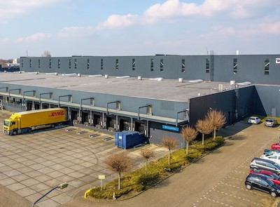 IMAGE: This 300,000 square foot logistics building in Breda, Netherlands, has been acquired by Dream Industrial REIT. (Courtesy Dream)