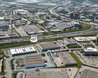 IMAGE: Dream Industrial REIT has acquired this 116,000 square foot industrial property in Mississauga, just west of Toronto. (Courtesy Dream Industrial)