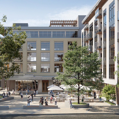 IMAGE: Esquimalt Town Centre is being developed by Vancouver-based Aragon Properties. (Courtesy Aragon)