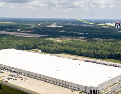 IMAGE: Granite REIT has closed on this million square foot distribution centre at 8500 Tatum Rd., in Atlanta. (Courtesy JLL)
