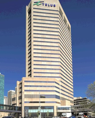 IMAGE: The addition of a new tech tenant at Calgary's First Tower is an indication the Alberta office sector is trying to reduce its reliance on the energy sector. (Courtesy JLL)