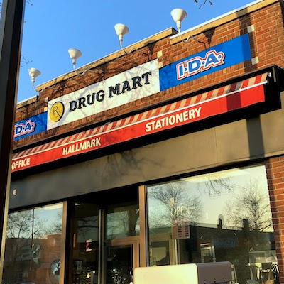 IMAGE: This Rx Drug Mart in Camrose, Alta., is one of 12 being sold by Sante Properties L.P., a division of Rx Drug Marts. (Courtesy Rx, JLL)