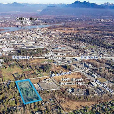 IMAGE: Denciti Development and Nicola Wealth Real Estate plan to develop this site into a strata industrial property. (Courtesy Denciti)