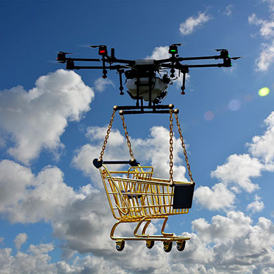 Drone Shopping Cart
