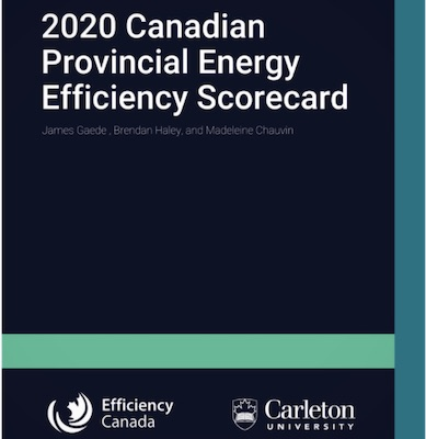 IMAGE: IMAGE: The 2020 Canadian Provincial Energy Efficiency Scoreboard, by Efficiency Canada.