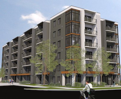 IMAGE: URBN Lofts in Guelph, a project under way by Reid's Heritage Properties. (Courtesy Reid's)