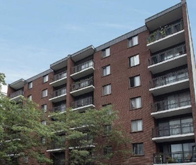 IMAGE: CAPREIT is acquiring this downtown Ottawa rental apartment building at 141 Augusta St. (Courtesy CAPREIT)