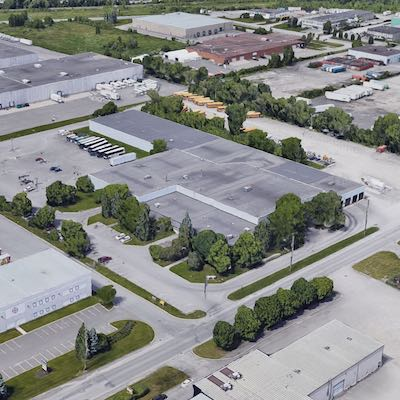 IMAGE: This 10-acre site and industrial building at 2105 Bantree Rd., in Ottawa have been acquired by a Manulife Investment Management fund. (Google Maps)