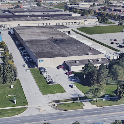 IMAGE: This industrial property at 5600 Finch AVe., East in Toronto is being acquired by Parkit Enterprises, as it shifts focus from parking facilities to include industrial assets. (Google Maps)
