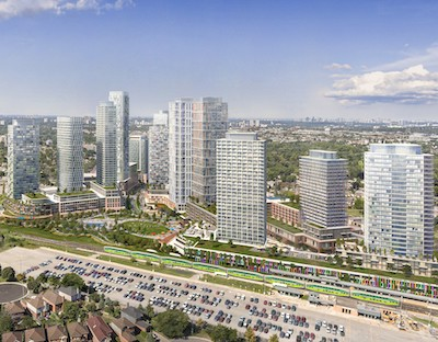 IMAGE: An artist's conception of the Scarborough Junction development planned by Republic Developments in Toronto. (Courtesy Republic)