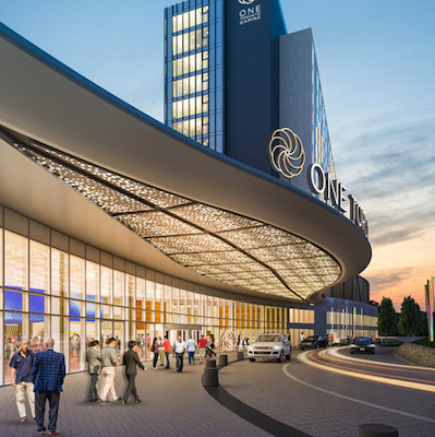 IMAGE: The Casino District, part of the 240-acre Durham Live site, is just one major development being undertaken in the City of Pickering, just east of Toronto. (Courtesy City of Pickering)