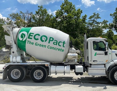 """IMAGE: Lafarge Canada is beginning its rollout of its ECOPact line of """"green"""" concretes across Canada. (Courtesy Lafarge)"""