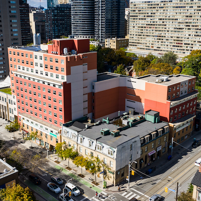 IMAGE: Campus Common, a student residence at 50 Gerrard St., in Toronto, has been sold to U.S.-based Blue Vista LLC. (Courtesy Blue Vista)