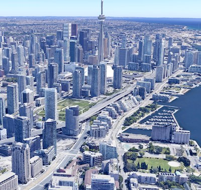 IMAGE: Canadian apartment rental rates are expected to rebound in 2021 and increase about three per cent, according to Rentals.ca and consultant Ben Myers. (Google Maps)