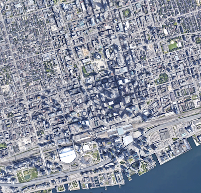 IMAGE: The SparkBeyond AI engine being employed by Oxford and Investa is capable of monitoring and continually updating the performance data of thousands, or tens of thousands, of buildings. (Google Maps)