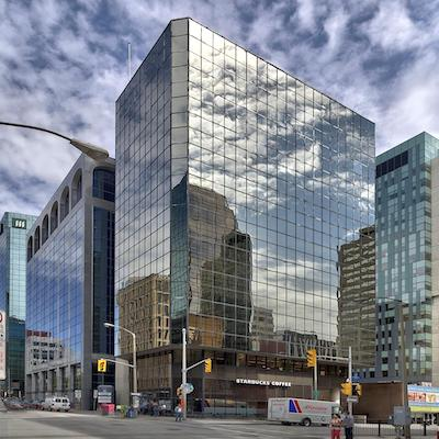 IMAGE: 81 Metcalfe St., is a 12-storey office tower in downtown Ottawa. Marlin Spring has bought a majority ownership in the property. (Courtesy Marlin Spring/Colonnade Bridgeport)