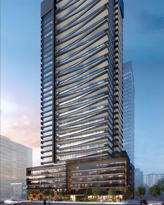 IMAGE: Reserve Properties and Westdale Properties are building the Line 5 condo tower near Toronto's coveted Yonge and Eglinton intersection. (Courtesy Reserve/Westdale)