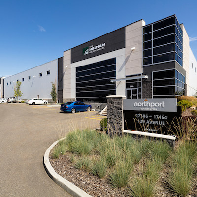 IMAGE: Northport Business Park, Edmonton, Alberta. (Courtesy Crestpoint Real Estate Investments)