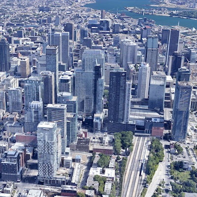 IMAGE: A view of downtown Montreal. (Google Maps)