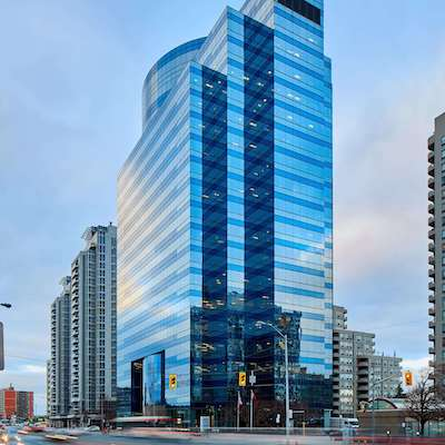 IMAGE: 5775 Yonge Street in North York, owned by True North. (Courtesy True North / Dale Wilcox)