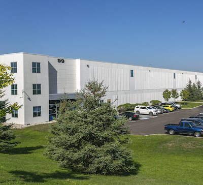 IMAGE: Lasalle's LCPF is the new owner of this 527,568-square-foot, fully leased distribution centre at 99 Savannah Oaks Dr. in Brantford, Ont. (Courtesy Lasalle)