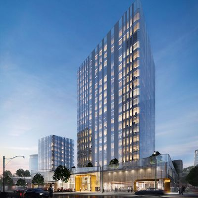 IMAGE: Capital Point in the Metro Vancouver City of Burnaby will be Slate Asset Management's first office project in the region. (Courtesy Slate)