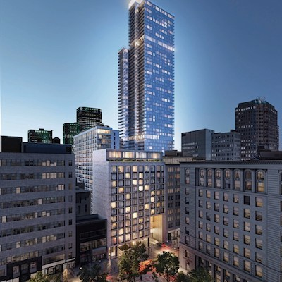 IMAGE: Brivia Group and IPSO FACTO Real Estate Fund will be partners on the One Phillips Square condo and apartment tower. (Courtesy Brivia)