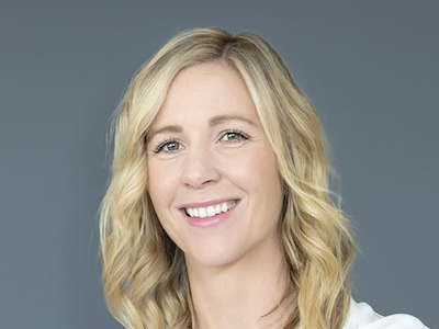 IMAGE: Bronwyn Scrivens, associate, industrial at Omada Commercial in Edmonton.