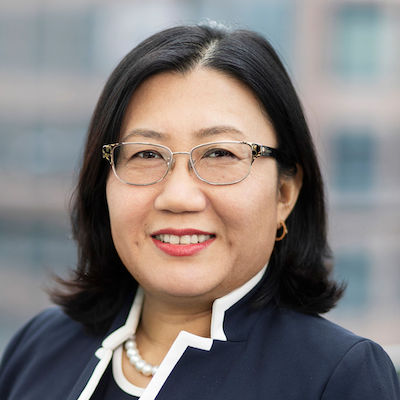 IMAGE: Qi Tang, senior vice president and chief financial officer at RioCan REIT. (Courtesy RioCan)