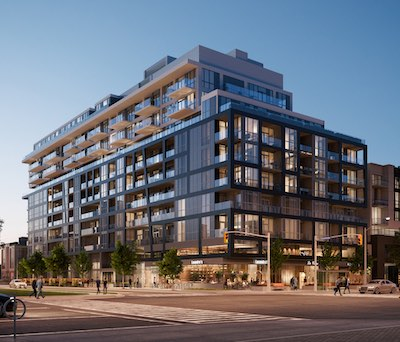 IMAGE: Bayview at the Village is the latest Toronto condo offering from Canderel. (Courtesy Canderel)