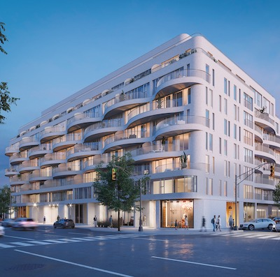 IMAGE: Reina Condos is a groundbreaking project in Toronto, for which all aspects of the project are being led by women. (Courtesy Spotlight Development)