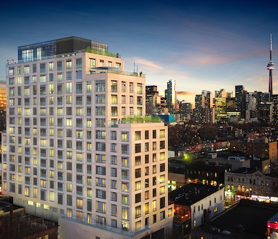 IMAGE: The Waverley is being developed by Fitzrovia Real Estate on the site of the former Waverley Hotel and its iconic Silver Dollar Room. (Courtesy Fitzrovia)