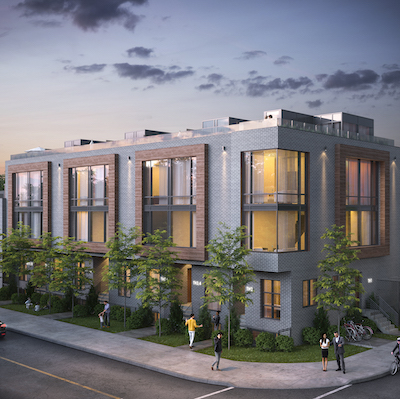 IMAGE: Atria Development has a number of residential projects on the go in Oshawa, Toronto, the GTA and several surrounding cities. This is a rendering of 76 Kingston in Toronto. (Courtesy Atria)