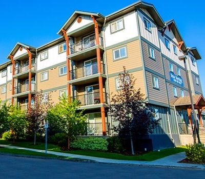 IMAGE: Firm Capital Property Trust has acquired this two-building, 128-unit apartment complex in Edmonton. (Courtesy FCPT)