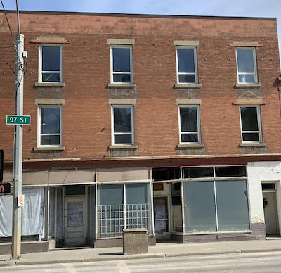 IMAGE: Gather Co.'s Stovell building in Edmonton is about to be a $1.3 million facelift to accommodate affordable housing for women and ground-floor retail. (Kathy Kerr RENX)