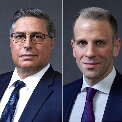 IMAGE: Forest Gate Financial has been founded by CFO Frank DelZotto, left, and CEO Dan Marinovic. (Courtesy Forest Gate)