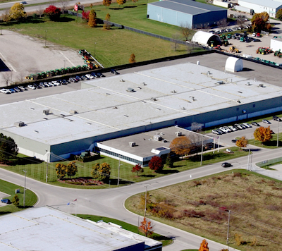 IMAGE: This 147,000 square foot industrial facility at 5 Cuddy Blvd. in London is one of the most recent acquisitions by Nexus REIT. (Courtesy Nexus)