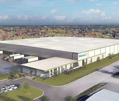 IMAGE: Walmart Canada's first distribution centre in Atlantic Canada, a state-of-the-art, 221,000-square-foot facility in Moncton, N.B. (Courtesy Walmart)