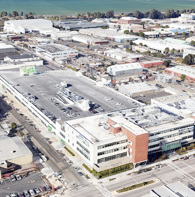 IMAGE: Thee Foundry31 building in San Francisco's East Bay has been acquired by Oxford Properties Group and City Center Realty Partners. (Google Maps)