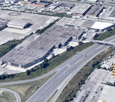 IMAGE: Triovest Realty Advisors has acquired 100-100 Iron Street in the west end of Toronto from Mantella Corp. (Google Maps)