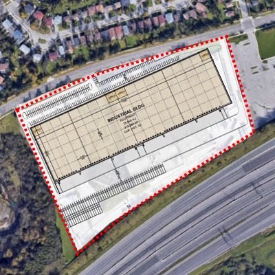 IMAGE: A preliminary plan for the facility to be constructed at Nicola Wealth Real Estate's east Toronto property. (Courtesy NWRE)