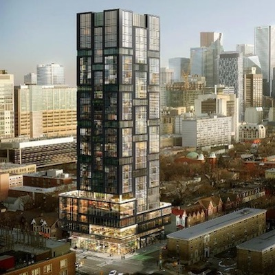 IMAGE: The Theory tower in Toronto is one of many ongoing developments in which Westdale is a partner. (Courtesy Westdale)
