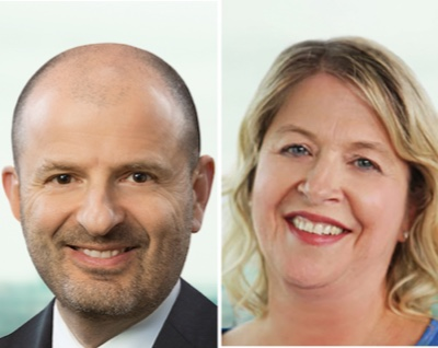 IMAGE: Leslie Veiner is becoming the new CEO at True North Commercial REIT, while Tracy Sherren will become president. (Courtesy Northview)