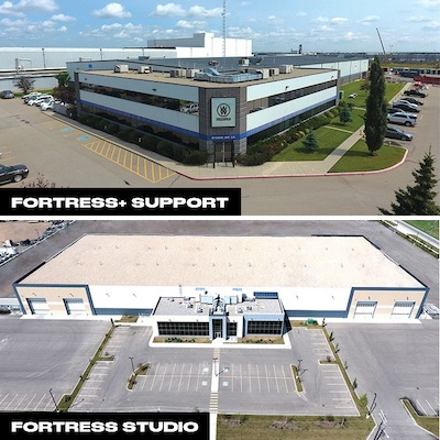 IMAGE: Fortress Studio and Fortress+ Support offer about 200,000 sq. ft. of space for the film and TV industry in Calgary. (Courtesy William F. White)