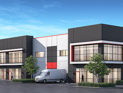 IMAGE: Wesmont Centre in Langley, B.C., will comprise three strate buildings of almost 120,000 square feet. (Courtesy Wesmont)