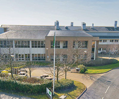 IMAGE: 310 Cambridge Science Park, UK, has been acquired by Oxford Properties Group. (Courtesy Oxford Properties Group)
