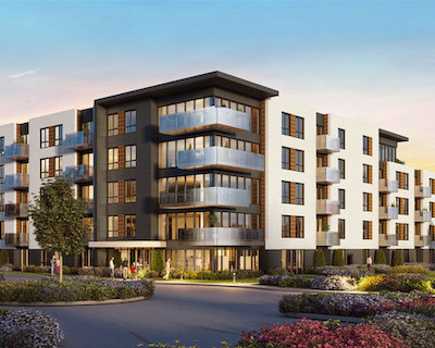 IMAGE: This project in Terrebonne will be the seecond Cloria connected communities to be constructed in Quebec. (Courtesy Cloria / Régis Coté & Associates)